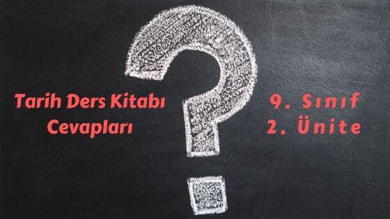 9 sinif tarih ders kitabi cevaplari