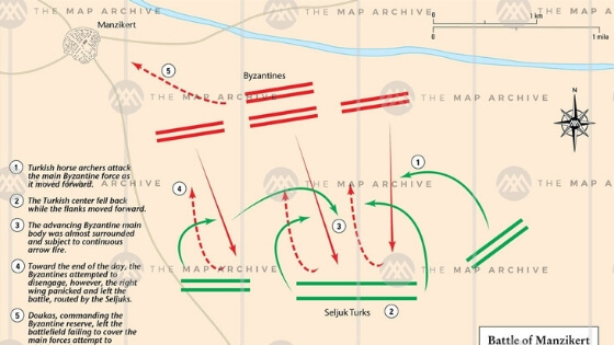Malazgirt Savaşı Taktik
