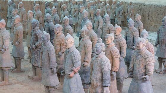 Terakota Ordusu (Toprak Askerler) Tarihi