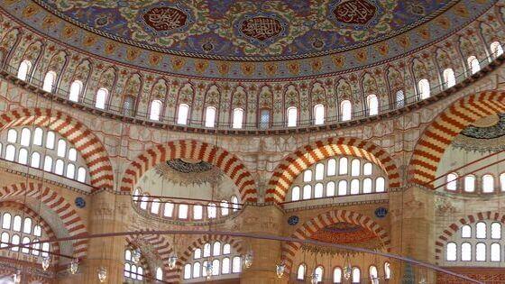 Selimiye Camii İç Görünüm