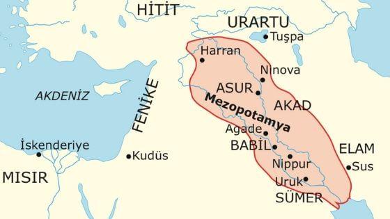 mezopotamya medeniyetleri hakkinda