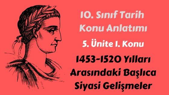 Dünya Gücü Osmanlı (1453-1595)