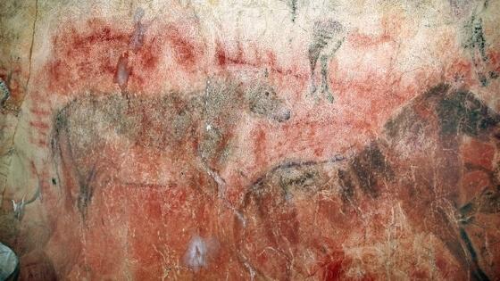 El Castillo Cave Red Disk