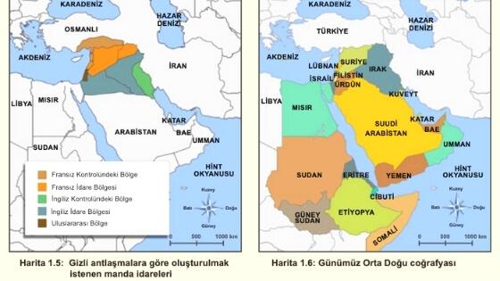 Orta Doğu Haritası